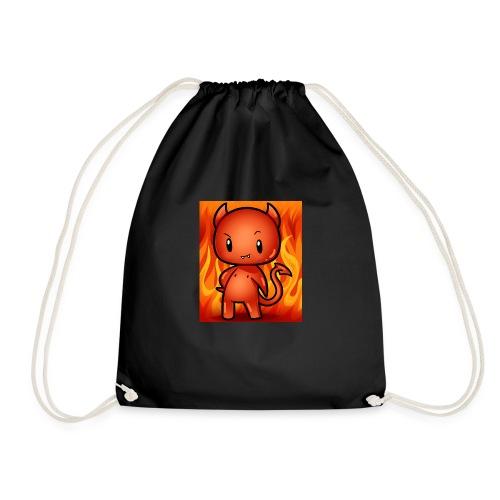 cute devil - Drawstring Bag
