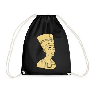 Nefertiti – Königin von Ägypten. Auch Golddruck! - Turnbeutel