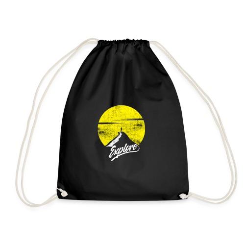 Explore - Drawstring Bag