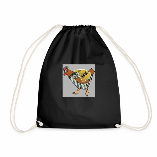 SWAG Chicken Logo - Drawstring Bag
