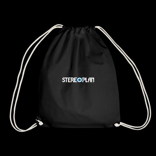 Stereoplan Logotype white - Gymnastikpåse