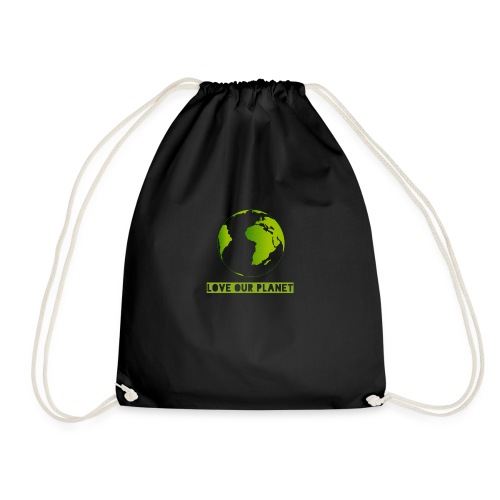 LOVE OUR PLANET - Drawstring Bag