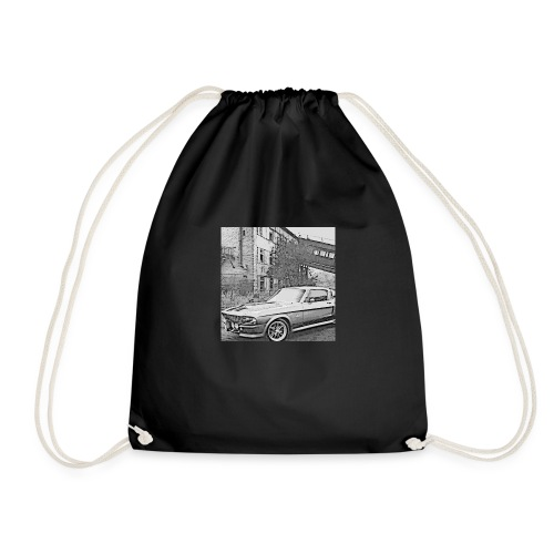 Muscle car - Drawstring Bag