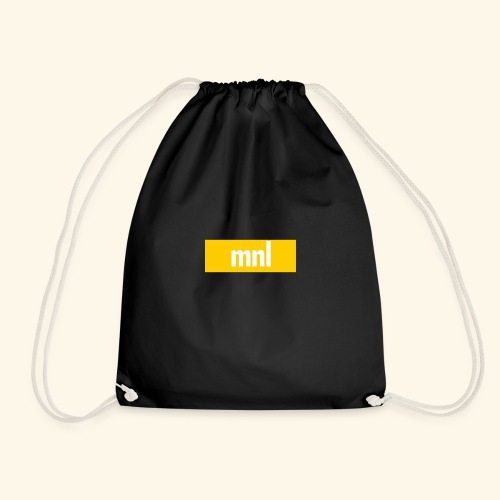mnl Box Logo. - Turnbeutel