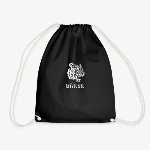 Tiger White - Drawstring Bag