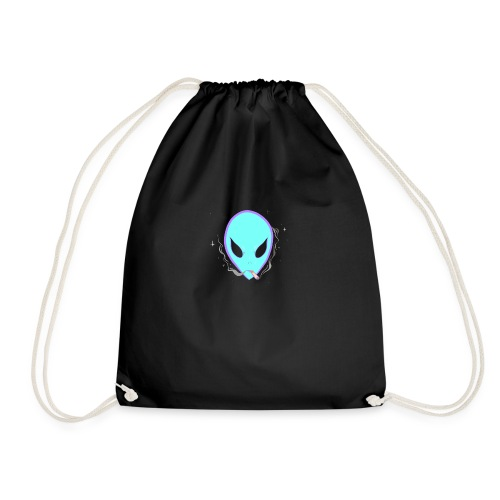 People alienate me. I'm out of this world - Drawstring Bag
