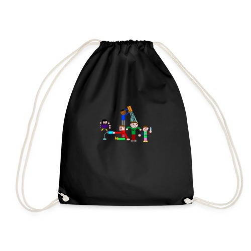 Water Fight - Drawstring Bag