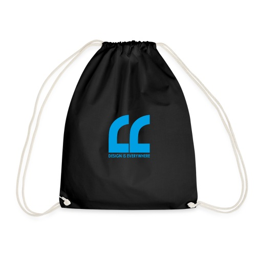 blue - Drawstring Bag