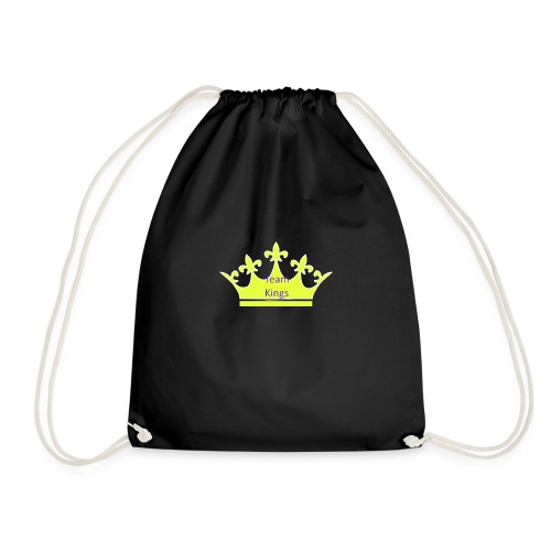 Team King Crown - Drawstring Bag