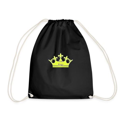 Team King Crown - Drawstring Bag