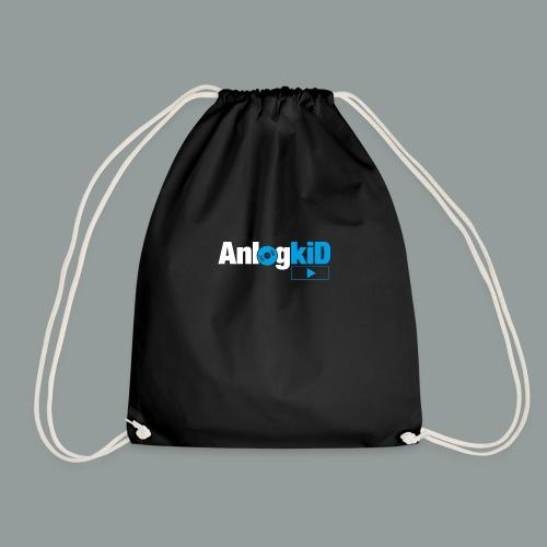 Anlogkid_Logo_Blau - Turnbeutel