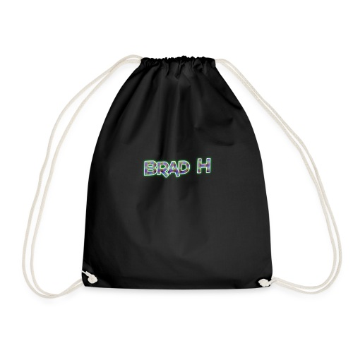 Official Brad H Logo - Drawstring Bag