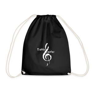 treble_maker-white - Drawstring Bag