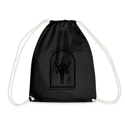 Ama Lilith - Drawstring Bag