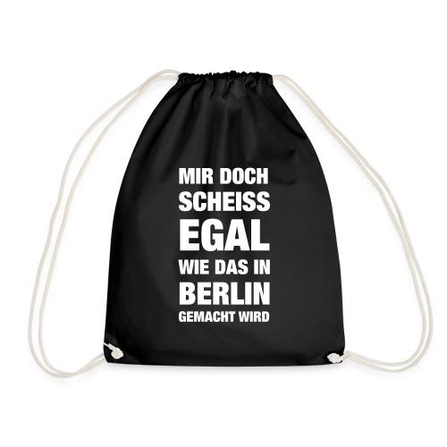 Aber in Berlin... - Turnbeutel