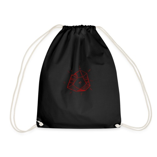 Red Philosopher's Stone - Drawstring Bag