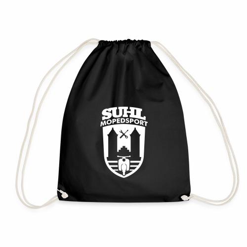 Suhl Mopedsport Schwalbe 2 Logo - Drawstring Bag