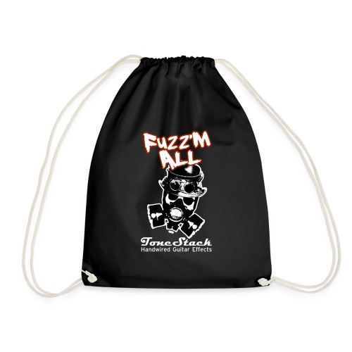 Fuzz 'm All - Drawstring Bag