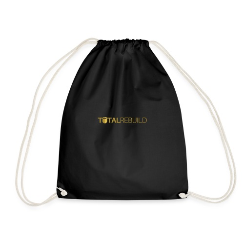 Total Rebuild Gold Long - Drawstring Bag