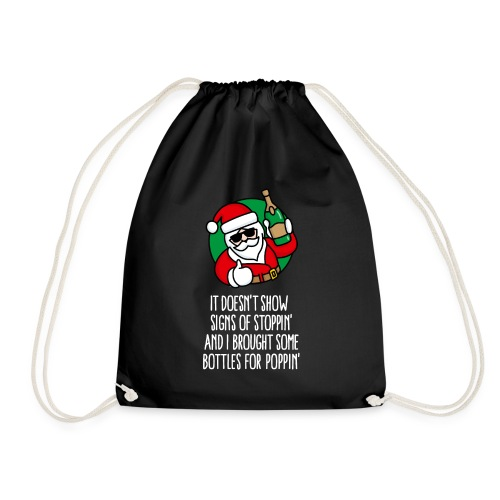 New year's eve Champaign happy new year Sylvester - Drawstring Bag