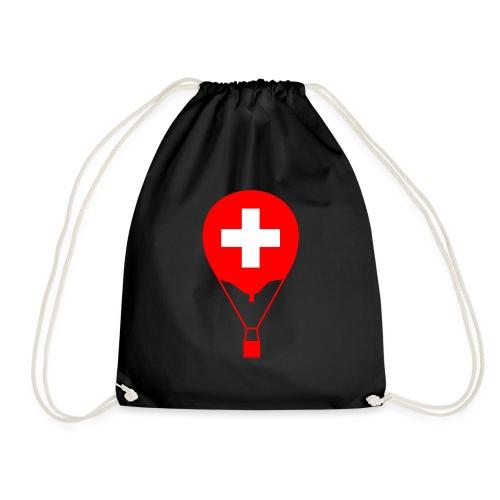 Gasballon im schweizer Design - Turnbeutel