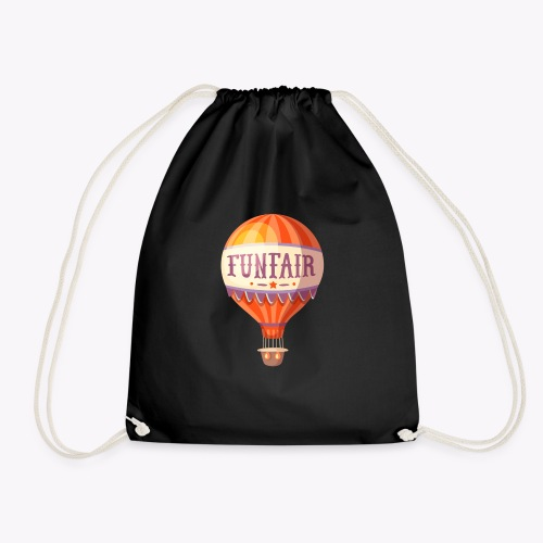 Vintage Balloon - Drawstring Bag