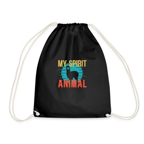MY SPIRIT ANIMAL ALPACA - Turnbeutel