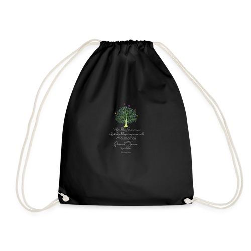 Adam Illsley Brand White - Drawstring Bag