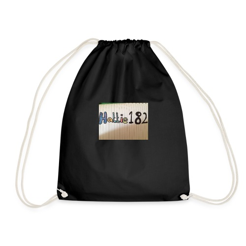 Hattie182 banner colour design - Drawstring Bag
