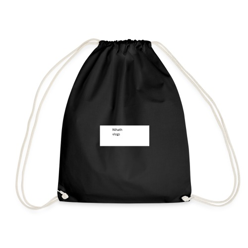 nihatrh vlogs - Drawstring Bag
