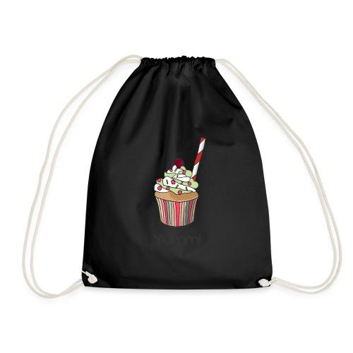 You are my yummy cupcake! - Drawstring Bag