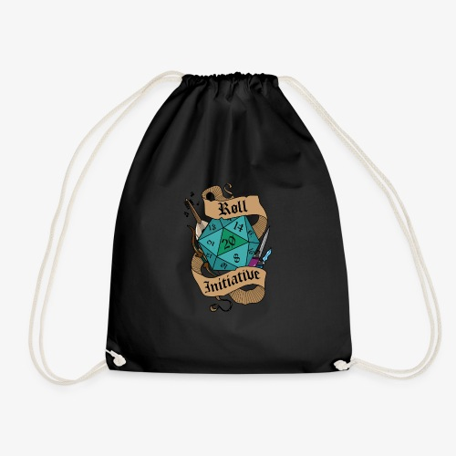 dnd2 - Drawstring Bag