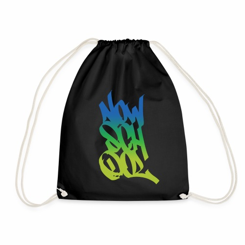 NowSchOol Marker Design (Colors) - Drawstring Bag