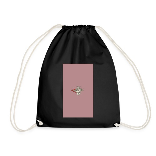 Aesthetic rose - Drawstring Bag