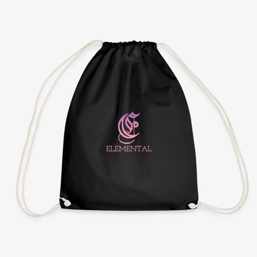 Elemental Pink - Drawstring Bag