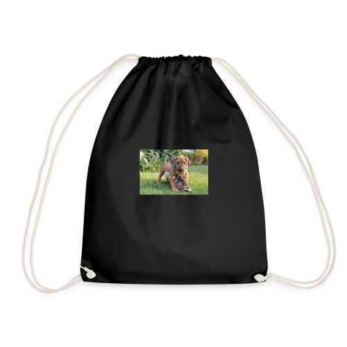 adorable puppies - Drawstring Bag