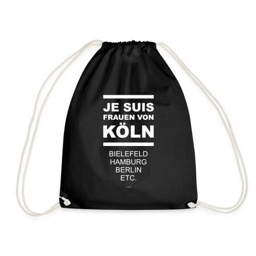 Je Suis Frauen von Köln - Turnbeutel