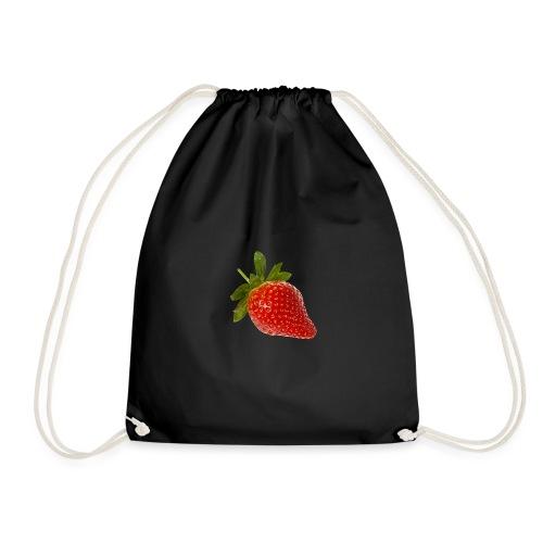 Erdbeere - Turnbeutel