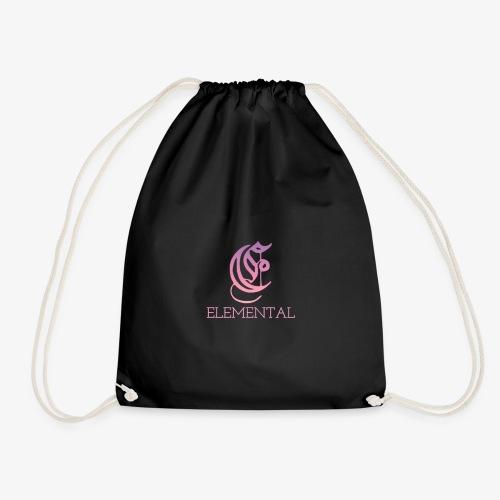 Elemental Pink - Drawstring Bag