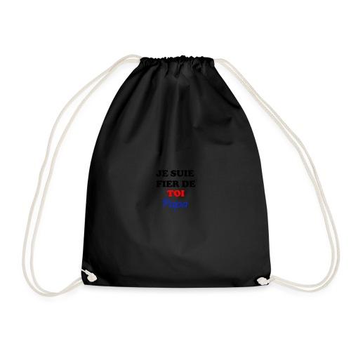 JE SUIE FIER DE TOI PAPA - Drawstring Bag