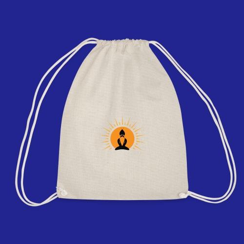 Guramylyfe logo no text black - Drawstring Bag