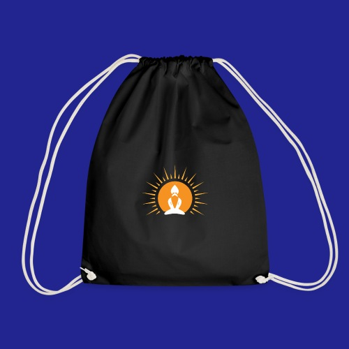Guramylyfe logo white no text - Drawstring Bag