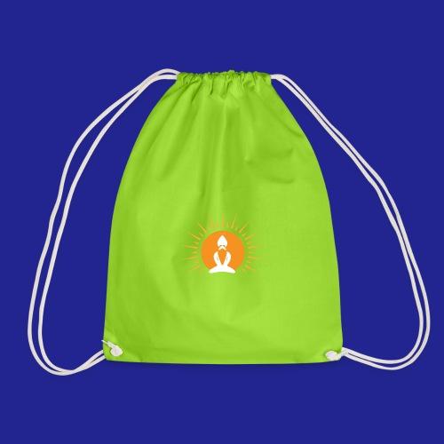 Guramylyfe logo white no text - Drawstring Bag
