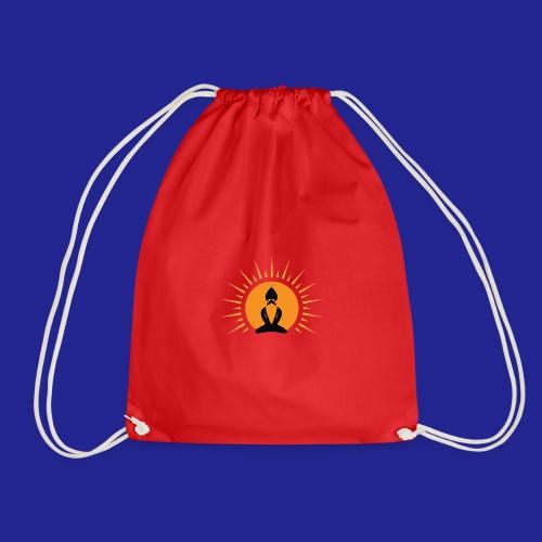Guramylife logo black - Drawstring Bag