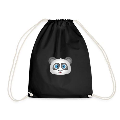 panda head / cabeza de panda 2 - Mochila saco