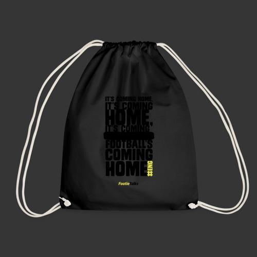 FootieTalks® home - Drawstring Bag