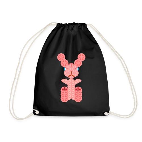 The Rabbit Of Life - Sacred Animals - Drawstring Bag