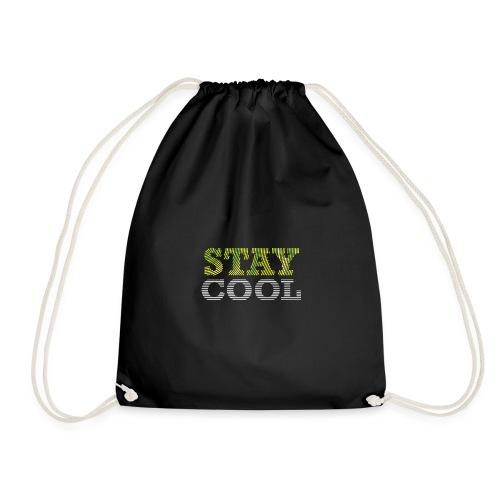 STAY COOL tshirt - Drawstring Bag