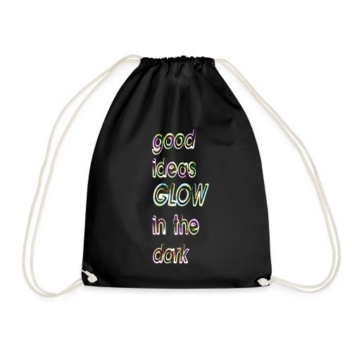 good ideas GLOW in the dark - Mochila saco
