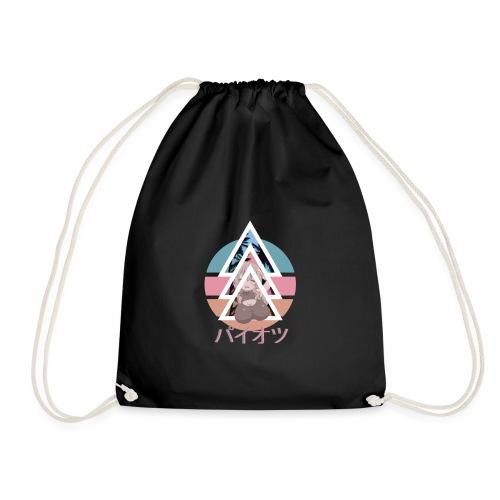 Oppai Kanji design - Drawstring Bag
